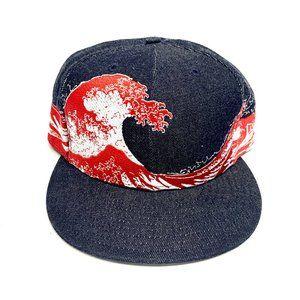 New Era Asian Art Wave of Kanagawa Hat